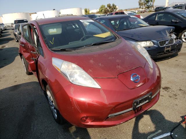 Vehiculos salvage en venta de Copart Martinez, CA: 2013 Nissan Leaf S
