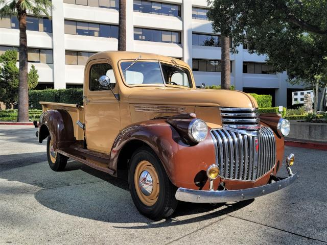 Chevrolet Pickup salvage cars for sale: 1946 Chevrolet Pickup