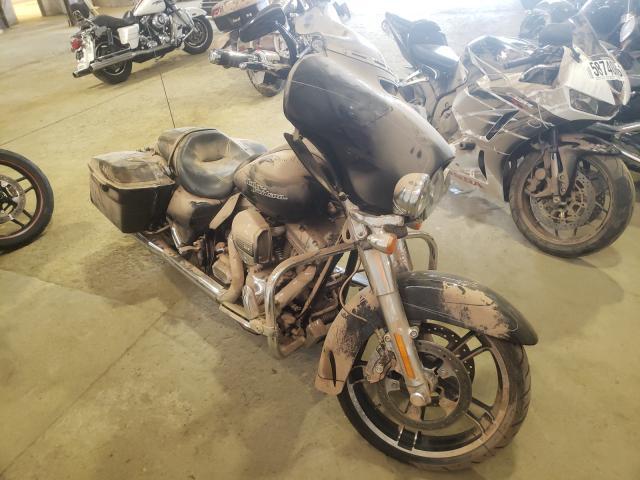 Salvage motorcycles for sale at Windsor, NJ auction: 2015 Harley-Davidson Flhxs Street