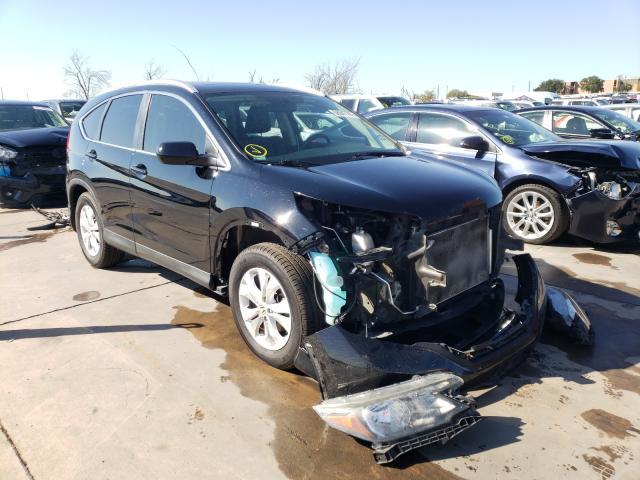 Salvage cars for sale from Copart Grand Prairie, TX: 2013 Honda CR-V EXL