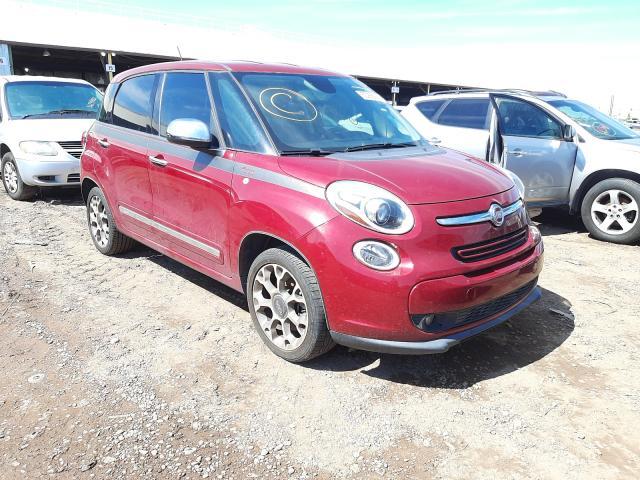 Salvage cars for sale from Copart Phoenix, AZ: 2014 Fiat 500L Loung