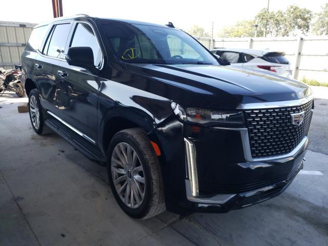 Cadillac Vehiculos salvage en venta: 2021 Cadillac Escalade L