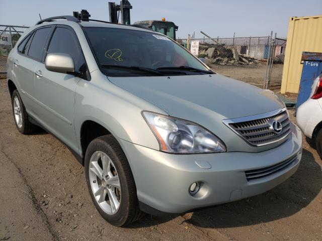 Salvage cars for sale from Copart San Martin, CA: 2008 Lexus RX 400H