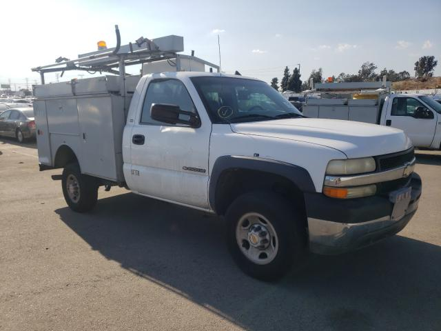 Salvage cars for sale from Copart Sun Valley, CA: 2002 Chevrolet Silverado