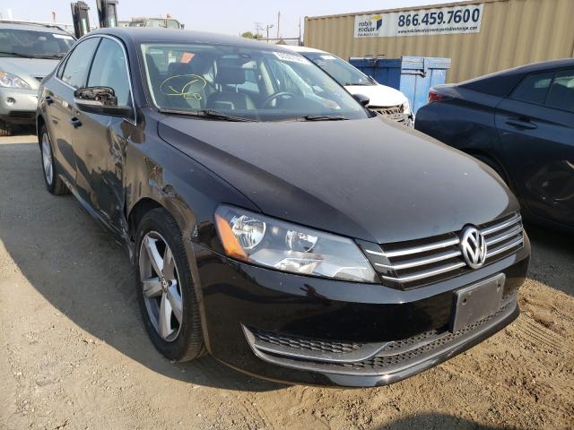 Salvage cars for sale from Copart San Martin, CA: 2014 Volkswagen Passat SE