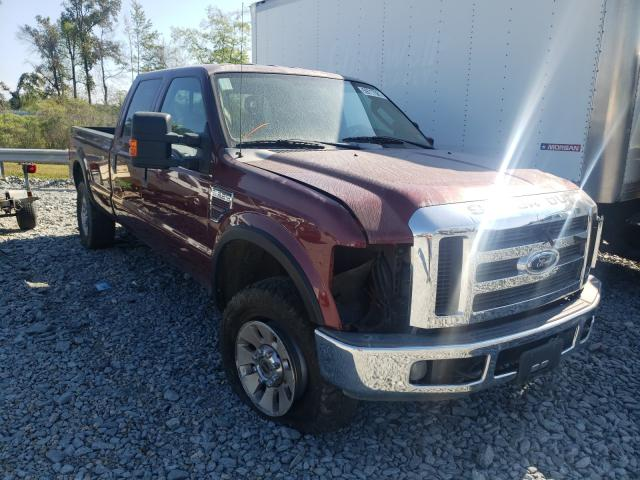 Salvage trucks for sale at Dunn, NC auction: 2008 Ford F350 SRW S