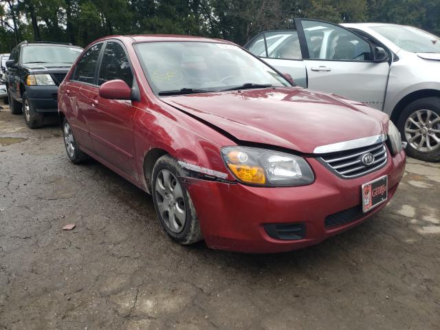 Salvage cars for sale from Copart Austell, GA: 2009 KIA Spectra EX