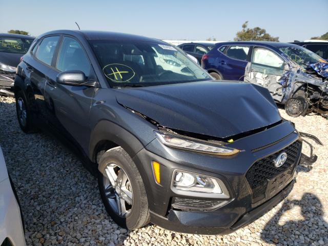 Salvage cars for sale from Copart New Braunfels, TX: 2020 Hyundai Kona SE