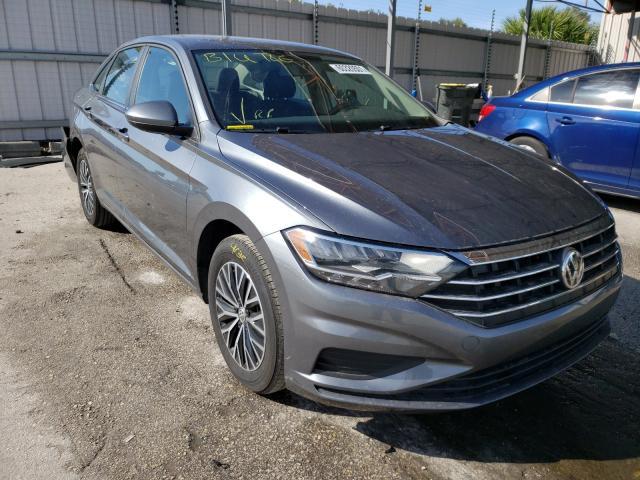 Salvage cars for sale from Copart Orlando, FL: 2021 Volkswagen Jetta S