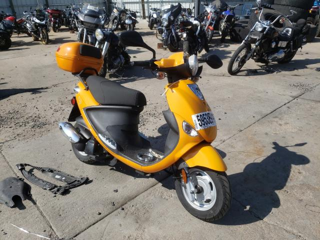 Genuine Scooter Co. salvage cars for sale: 2009 Genuine Scooter Co. Buddy 125