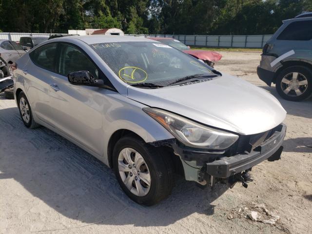 Salvage cars for sale from Copart Ocala, FL: 2016 Hyundai Elantra SE
