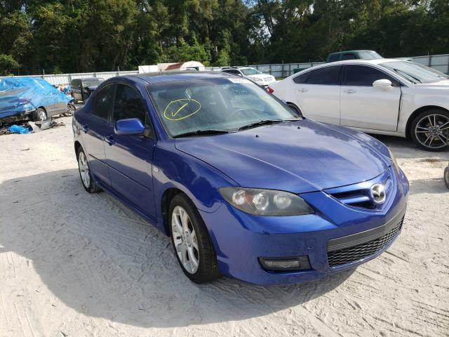 Salvage cars for sale from Copart Ocala, FL: 2008 Mazda 3 S