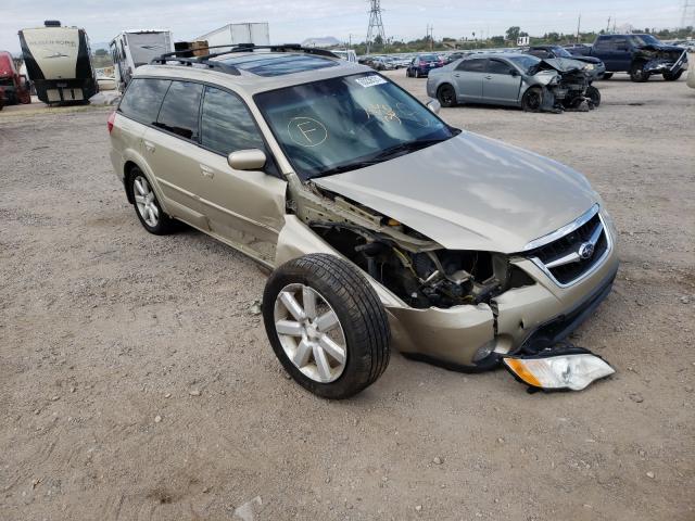 Subaru salvage cars for sale: 2008 Subaru Outback 2