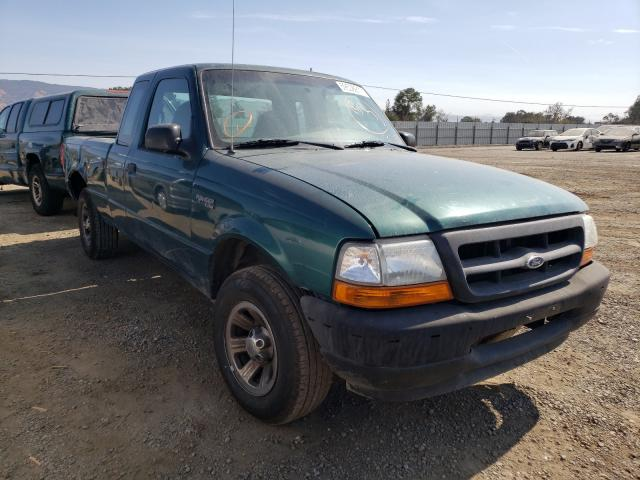 Salvage cars for sale from Copart San Martin, CA: 2000 Ford Ranger SUP