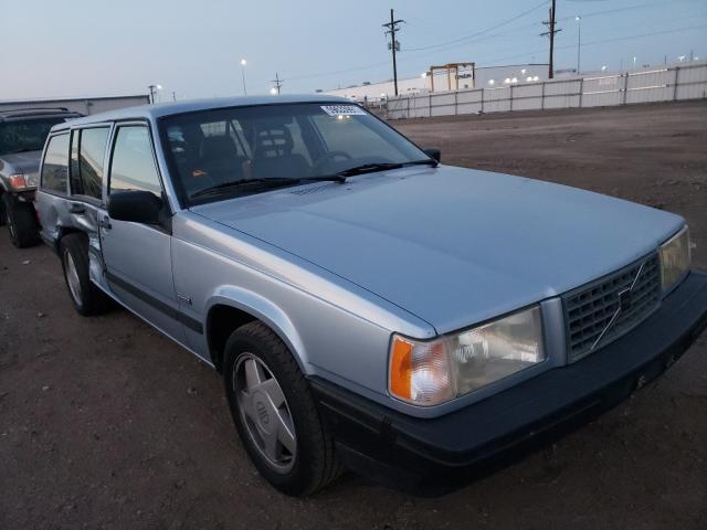 Volvo salvage cars for sale: 1990 Volvo 740