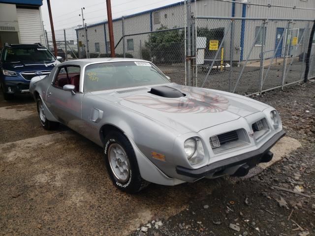 Pontiac Firebird salvage cars for sale: 1975 Pontiac Firebird