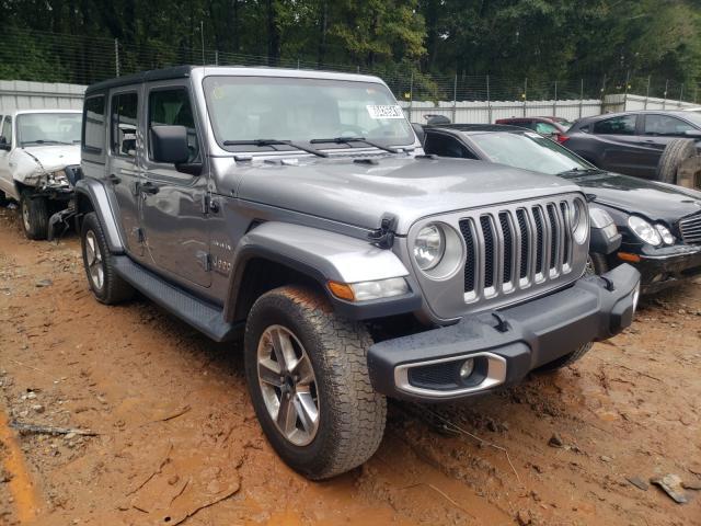 Vehiculos salvage en venta de Copart Austell, GA: 2019 Jeep Wrangler U