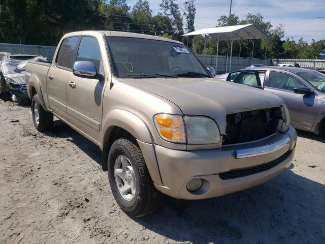 Salvage cars for sale from Copart Savannah, GA: 2004 Toyota Tundra DOU