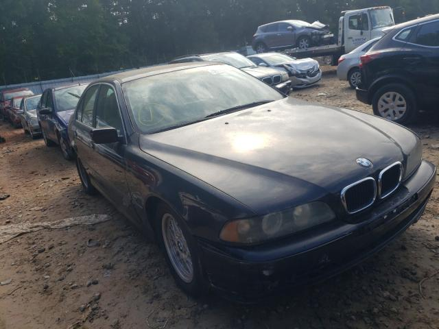 Salvage cars for sale from Copart Austell, GA: 2001 BMW 525 I Automatic