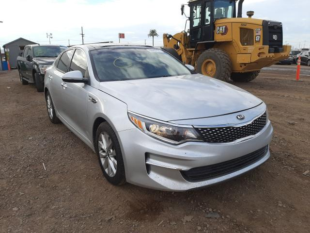 Salvage cars for sale from Copart Phoenix, AZ: 2016 KIA Optima EX