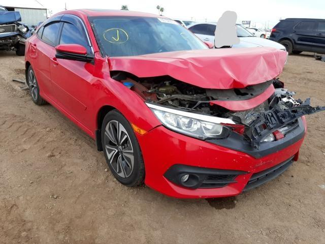 Salvage cars for sale from Copart Phoenix, AZ: 2016 Honda Civic EXL
