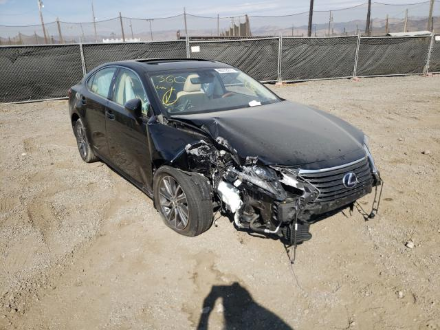 Salvage cars for sale from Copart San Martin, CA: 2016 Lexus ES 300H