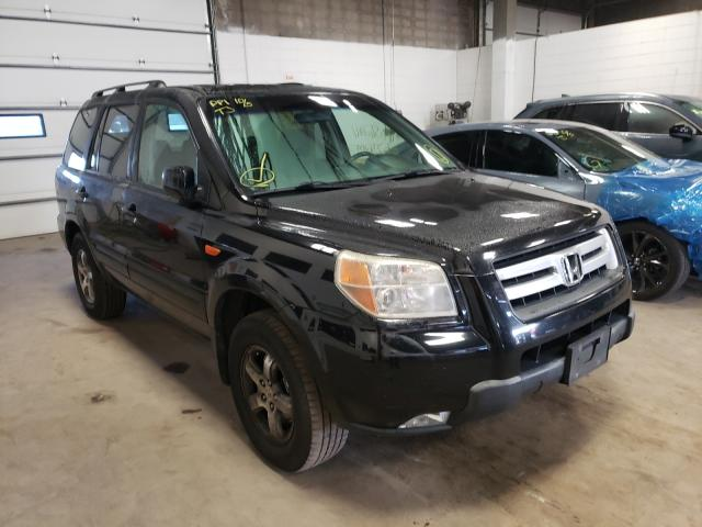 Salvage cars for sale from Copart Blaine, MN: 2008 Honda Pilot SE