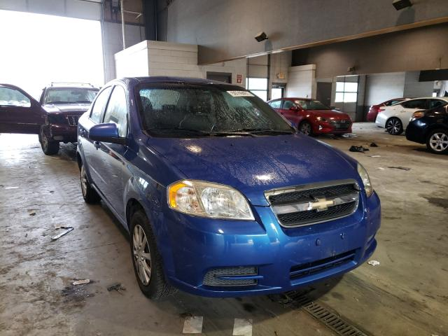 Salvage cars for sale from Copart Sandston, VA: 2010 Chevrolet Aveo LS