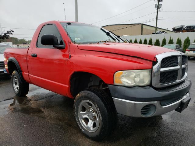 Salvage cars for sale from Copart New Britain, CT: 2003 Dodge RAM 1500 S