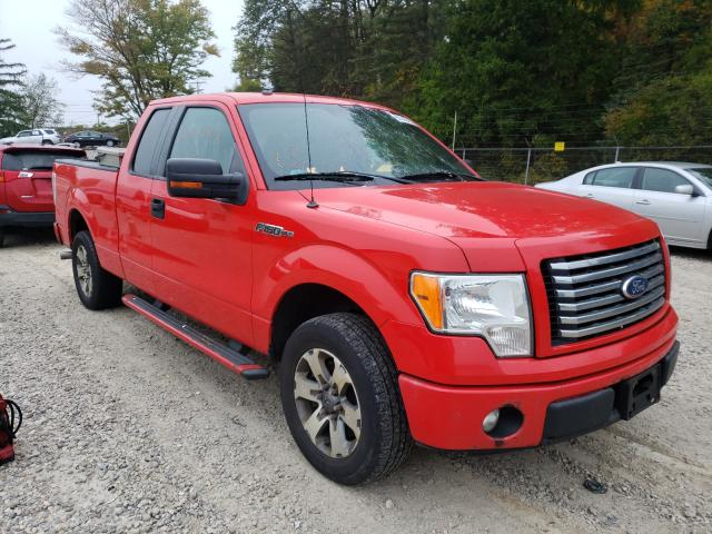 Salvage cars for sale from Copart Northfield, OH: 2012 Ford F150 Super