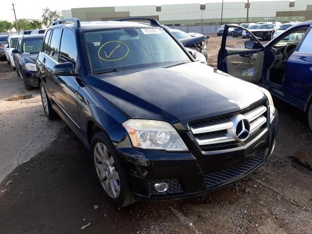 Salvage cars for sale from Copart Phoenix, AZ: 2012 Mercedes-Benz GLK 350 4M