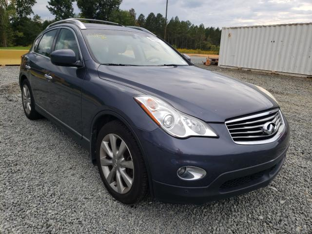 Salvage cars for sale from Copart Concord, NC: 2008 Infiniti EX35 Base