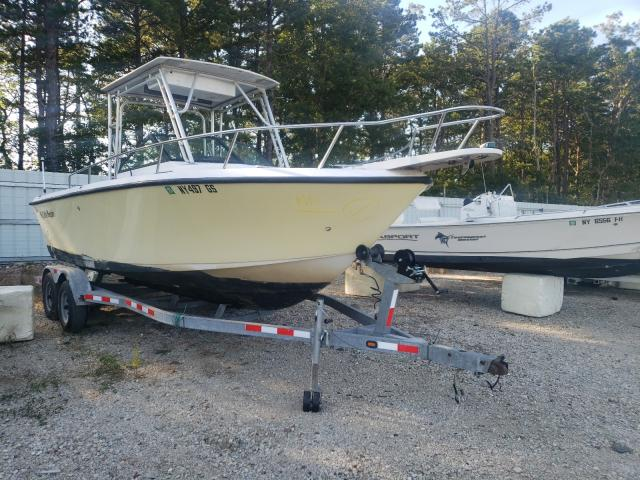 Salvage boats for sale at Brookhaven, NY auction: 1990 Pro-Line Boat