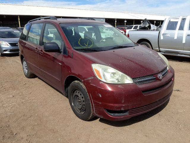 Salvage cars for sale at Phoenix, AZ auction: 2005 Toyota Sienna CE