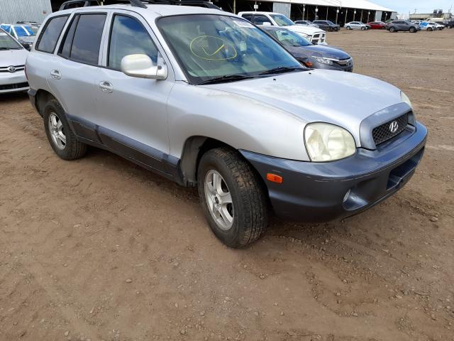 Salvage cars for sale from Copart Phoenix, AZ: 2004 Hyundai Santa FE