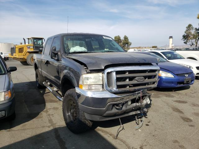 Salvage cars for sale from Copart Martinez, CA: 2003 Ford F250 Super