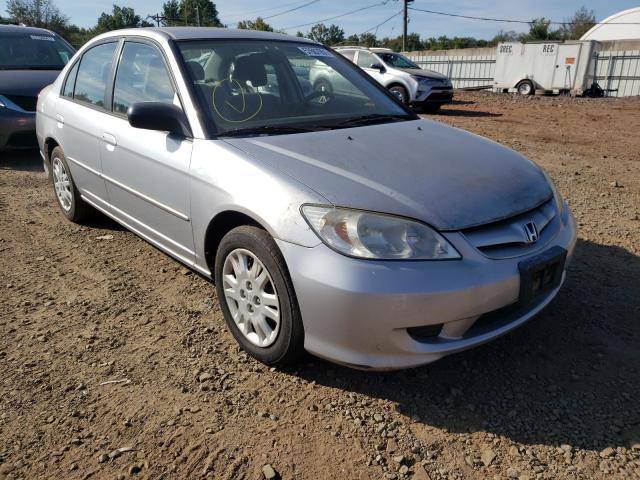 Honda Civic salvage cars for sale: 2005 Honda Civic