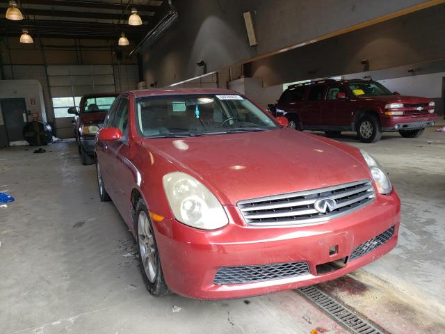 Salvage cars for sale from Copart Sandston, VA: 2006 Infiniti G35