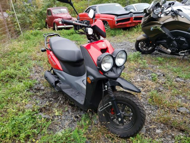 Salvage motorcycles for sale at Marlboro, NY auction: 2013 Yamaha YW50 F