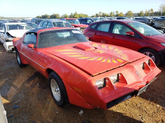 Pontiac Firebird salvage cars for sale: 1979 Pontiac Firebird