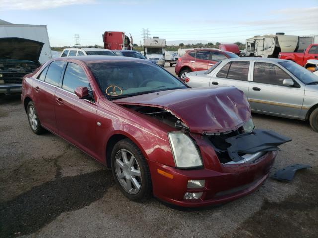 Salvage cars for sale at Tucson, AZ auction: 2005 Cadillac STS
