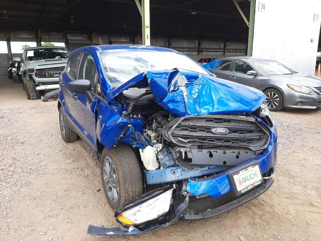 Salvage cars for sale from Copart Phoenix, AZ: 2021 Ford Ecosport S