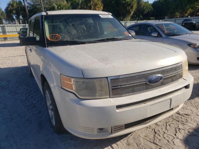 Salvage cars for sale from Copart Fort Pierce, FL: 2009 Ford Flex SE