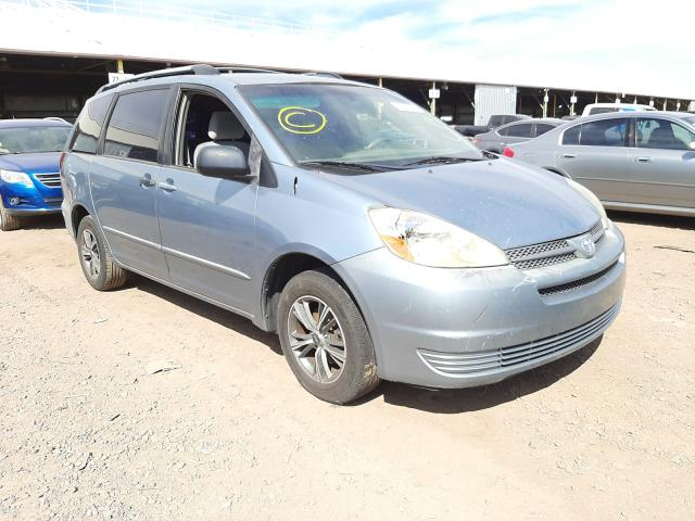 Salvage cars for sale from Copart Phoenix, AZ: 2005 Toyota Sienna CE