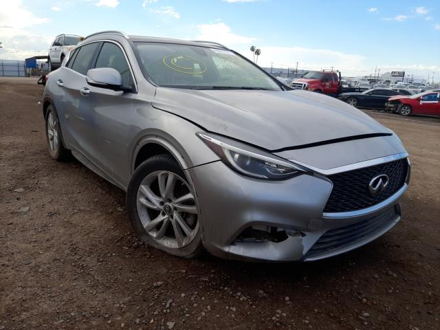 Salvage cars for sale from Copart Phoenix, AZ: 2017 Infiniti QX30 Base