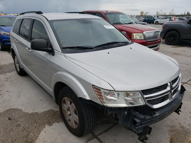 Salvage cars for sale from Copart New Orleans, LA: 2012 Dodge Journey SE
