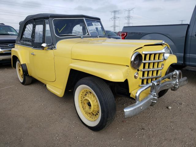 Willys salvage cars for sale: 1950 Willys Coupe