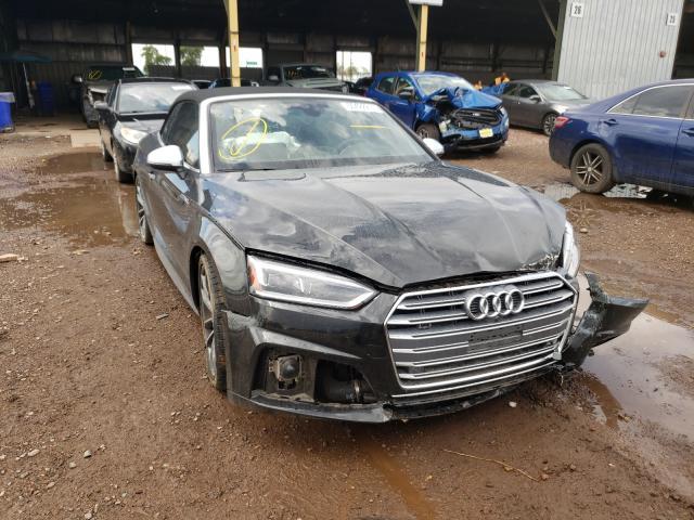 Salvage cars for sale from Copart Phoenix, AZ: 2018 Audi S5 Prestige