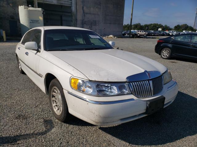 Lincoln Town Car salvage cars for sale: 1998 Lincoln Town Car