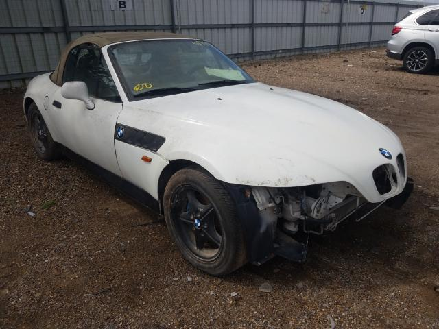 Salvage cars for sale from Copart Mercedes, TX: 1998 BMW Z3 1.9